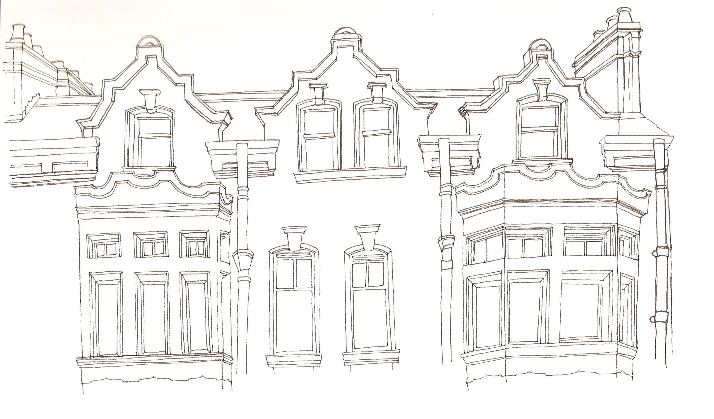 whole building drawing practice