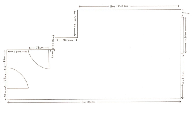technical room plan