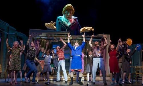 Billy Elliot Margaret Thatcher puppet
