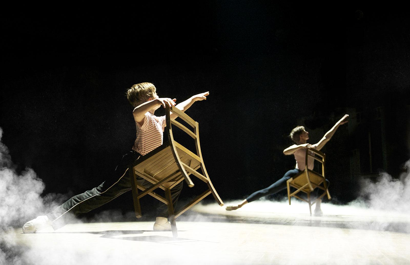 Billy Elliot chair dance