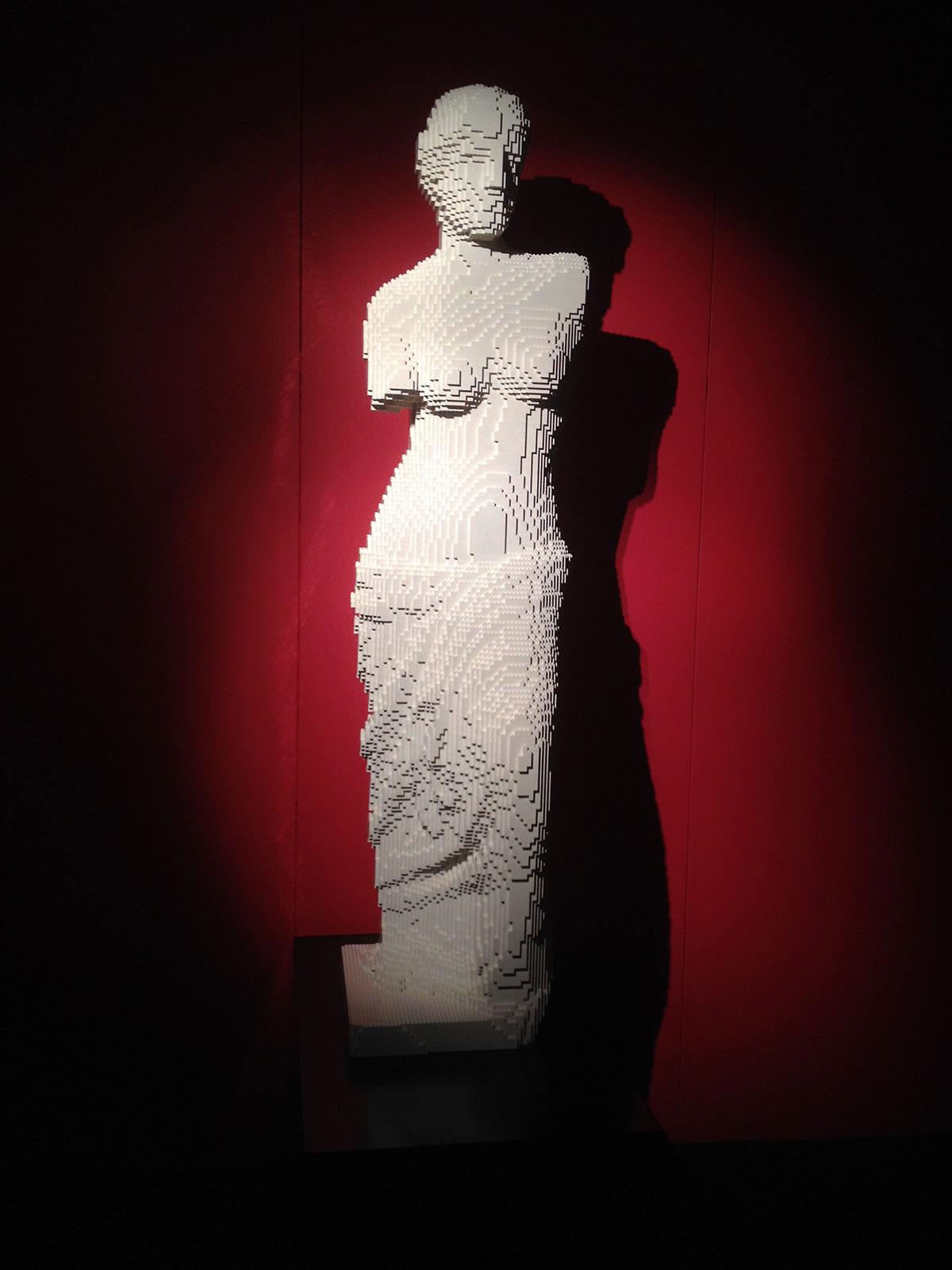 LEGO statue