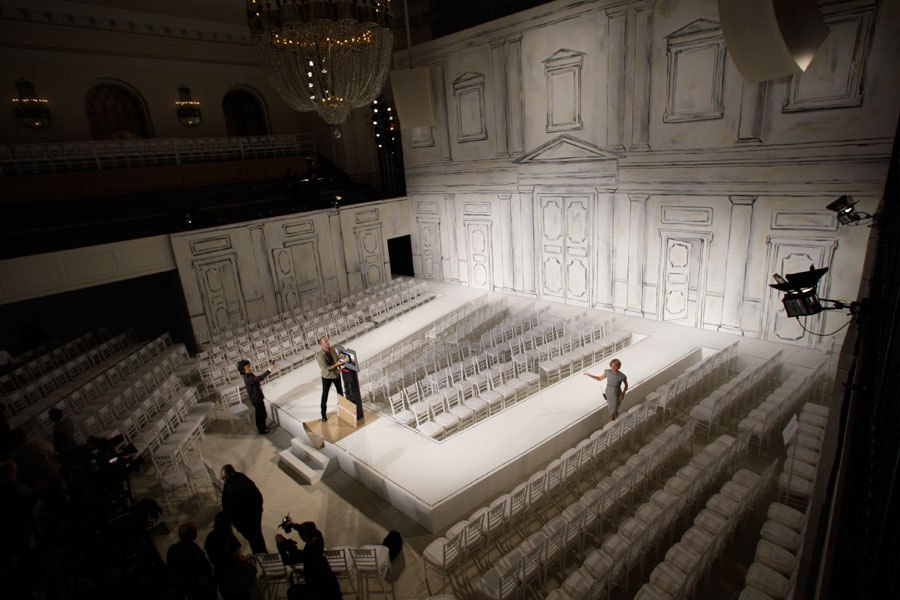 Set Design Fashion Runway Shows Molly Watson