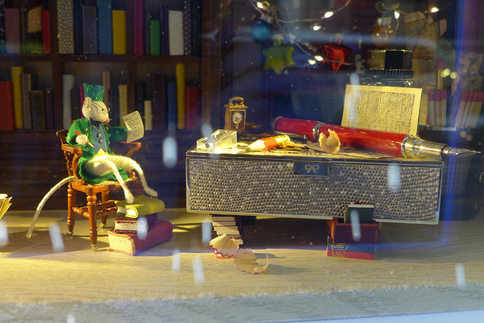 Harrods christmas display