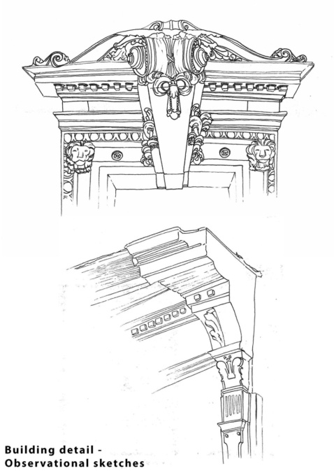 Building Detail Sketches