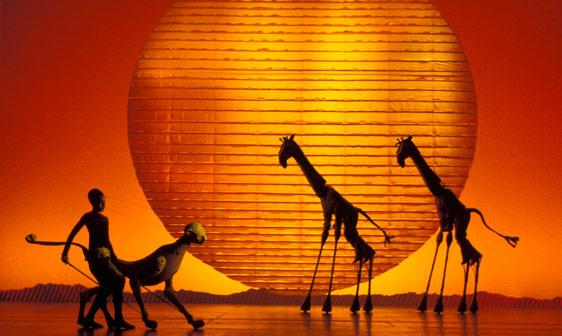 giraffes and cheetah