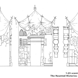 'The Haunted Histories of Hartlepool' 1:25 Scale Drawing - Final Building