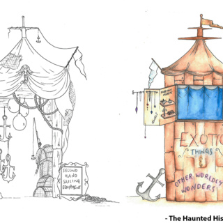 Street Stall Designs - The Haunted Histories of Hartlepool